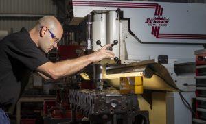 Diesel engine cylinder head manufacturing and repair