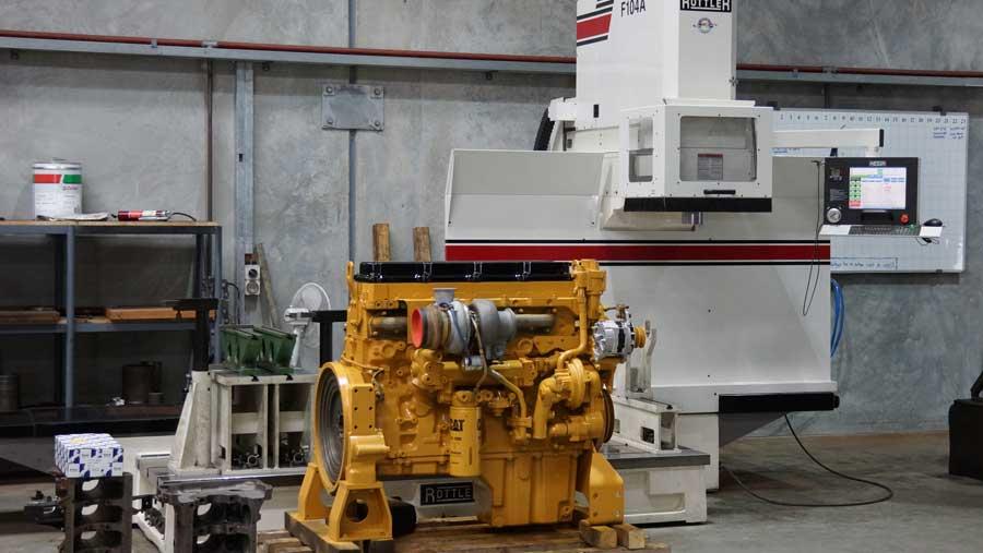 Industrial Diesel Engine Rebuilding