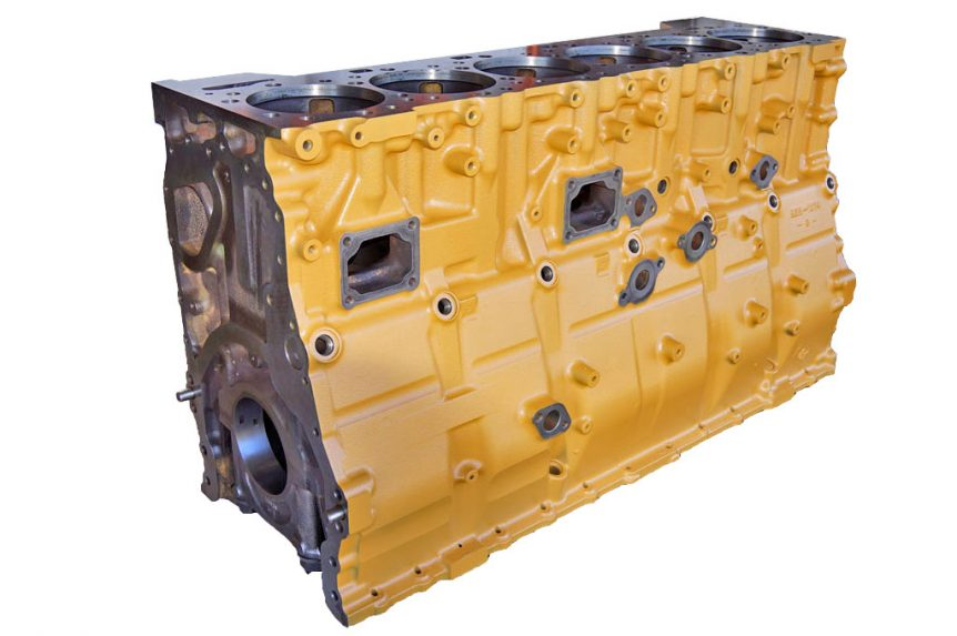 CAT 3412 Reman block